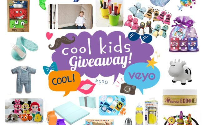 Get Ready for a Massive Holiday Giveaway of Cool Kids Brands