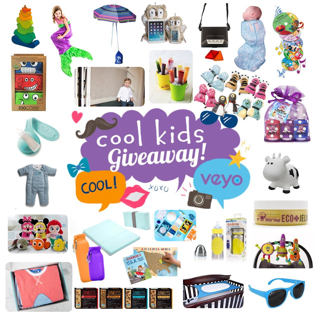 Cool kids massive holiday giveaway is going on now through December 14.