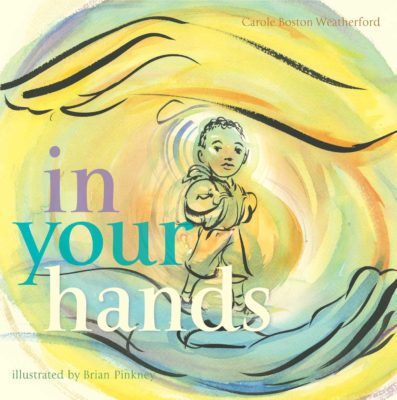 In Your Hands is one of the most beautiful picture books to give for the holidays. It is the book every black child should own!