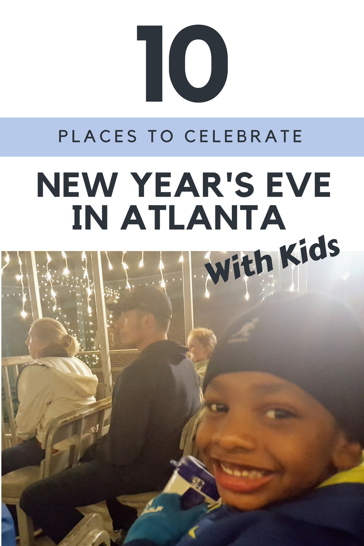 Celebrate an Atlanta New Year's Eve with kids in outstanding fashion this year!