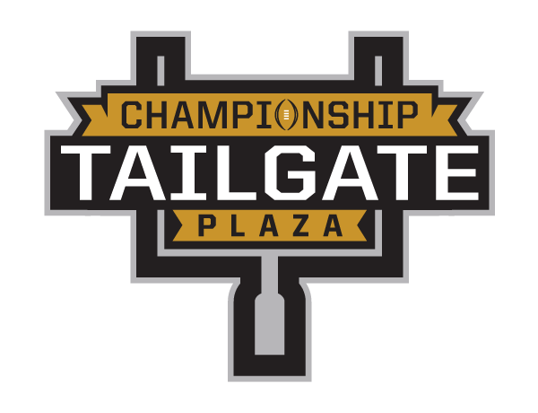 The 2018 Atlanta National Championship fan events. include Championship Tailgate Plaza.