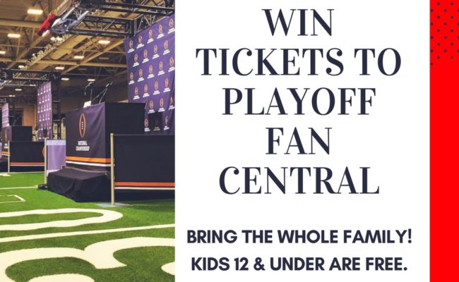 Win Tickets to Playoff Fan Central in Atlanta