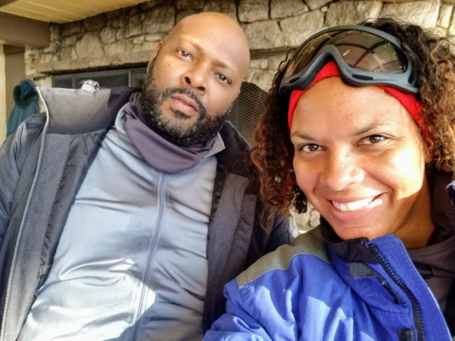 Maria Smith and husband loved hanging out in the cold at Beech Mountain, a southern ski resort in North Carolina.