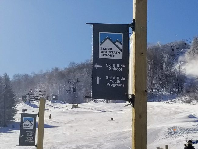 Enjoy the snow and the great outdoors at Beech Mountain, a southern ski resort.