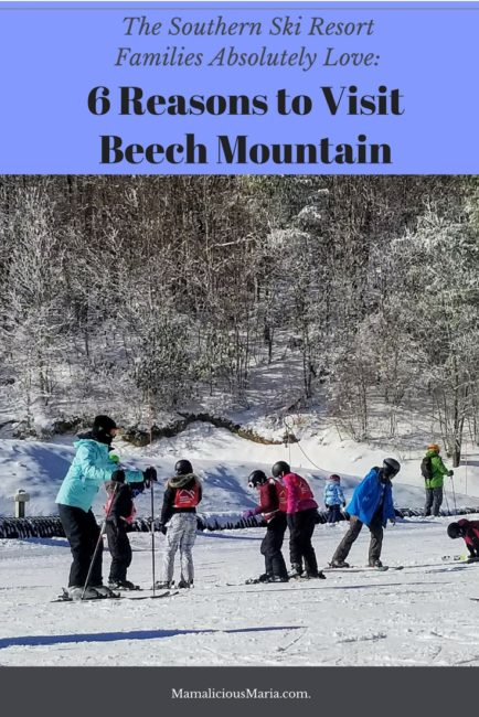 Enjoy the snow and the great outdoors at Beech Mountain, a southern ski resort. Maria Smith and her family had a fabulous time.